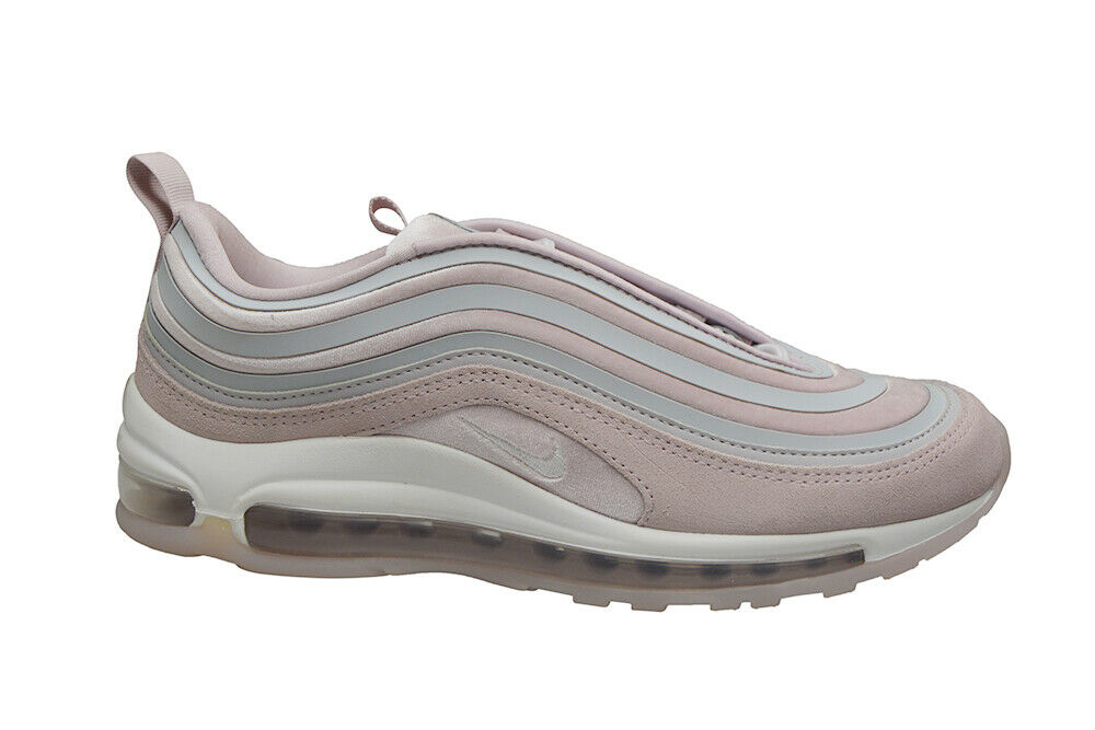 kvinnor Nike Air Max 97 UL'17 LX RARE - AH680502 - Vast grå Summit vit Pin