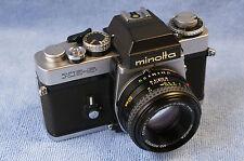 Minolta XE5 mit 1,7 / 50mm MD-Rokkor - schöner Zustand