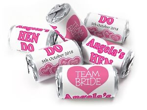 Personalised-Mini-Love-Heart-Sweets-for-Hen-Do-Team-Bride-Silver-Foils-V7