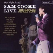 SAM COOKE - ONE NIGHT STAND-SAM COOKE LIVE AT THE HARLEM SQUARE CLUB  CD NEU