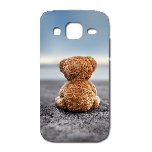 CUSTODIA COVER CASE ORSO BEAR PELUCHE PER SAMSUNG GALAXY EXPRESS 2 II SM G3815