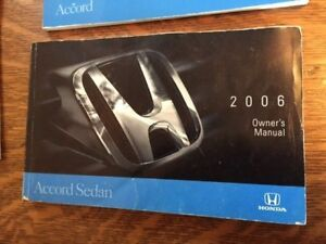 HONDA ACCORD 2006 Owners Manual 354088