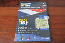 MEMORY MAP  DMS FRANCE  150 000 KM2   / cartes  IGN  1:100 000  - TOPOGRAPHIQUE