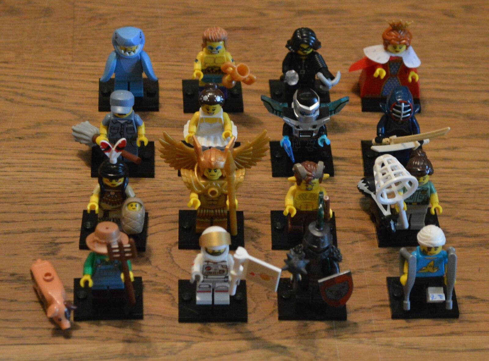 Lego  ® 71011 mini figures minifigures Series 15 all 16 Figures Complete-nouveau  qualité garantie