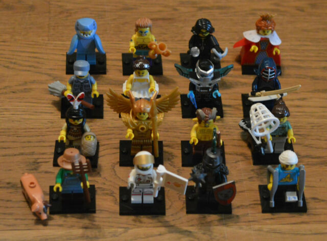Lego 71011 Mini Figurines Series 15 all 16 Characters Complete - New