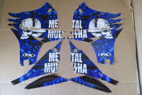 F X  METAL MULISHA GRAPHICS YAMAHA YZ450F YZF450  2010  2011  2012  2013