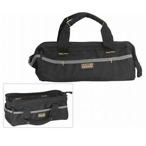 10236-Technicians-Strong-Fabric-Hand-Tool-Bag-Case-with-Pocket-amp-Zip-Closing