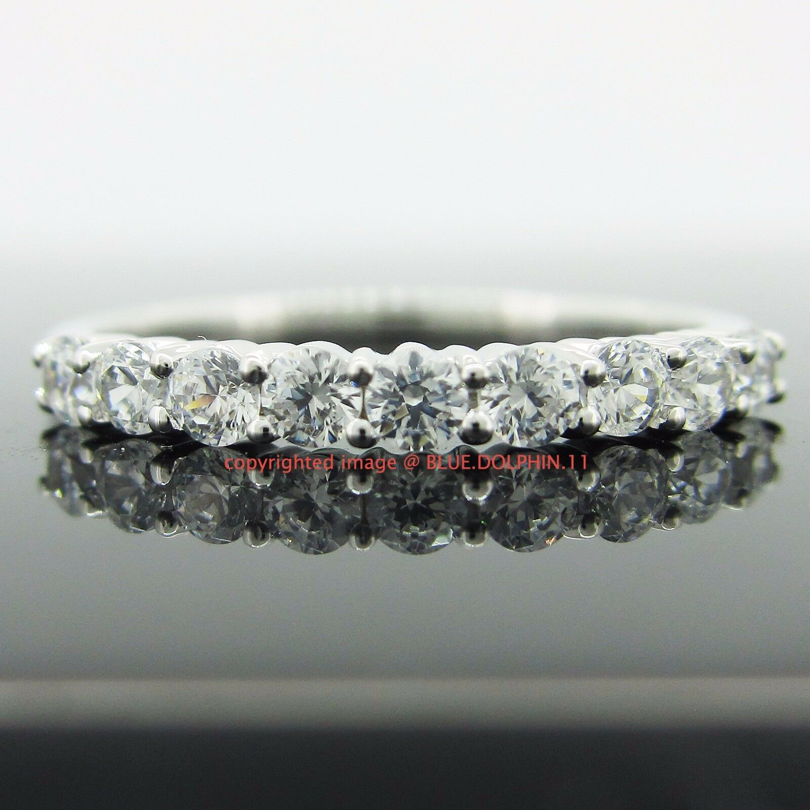 Genuine Real Solid 9ct White gold Engagement Anniversary Ring Simulated Diamonds