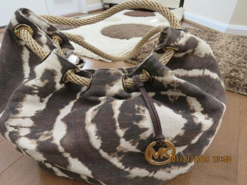 Michael Kors Marina Handbag Tye Dye Beautiful Brow