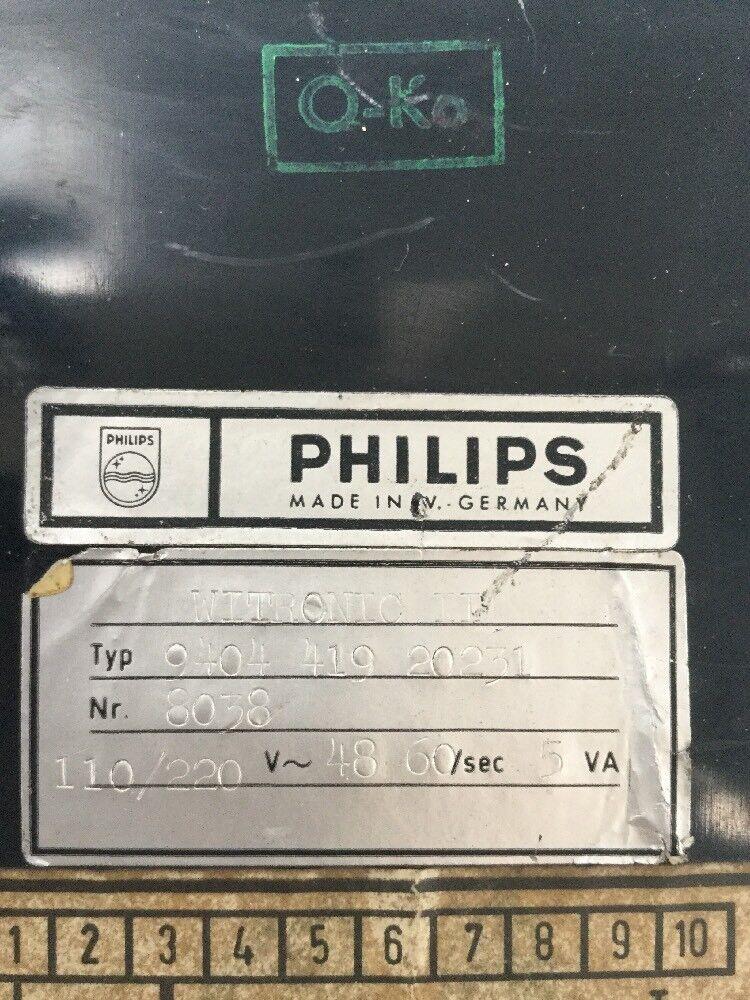 Philips Witronic 9404 419 20231 20231 20231 b53d26