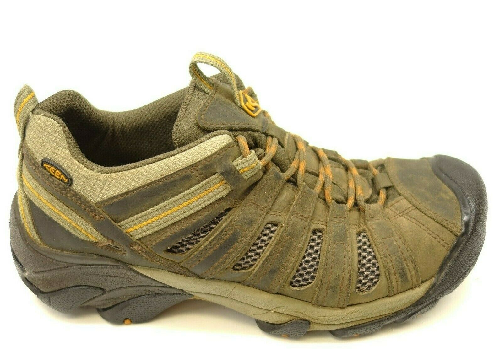 Keen Voyageur Low US 10.5 EU 44 Athletic Soft Toe Hiking Leather Mens shoes