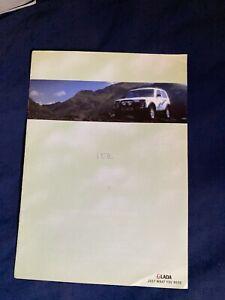 1990s Lada Niva 4X4 SUV UK Market Original Brochure ...