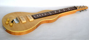B - STOCK WEISSENBORN SHAPE LAP STEEL GUITAR RIGHT HAND ONLY BY CLEARWATER