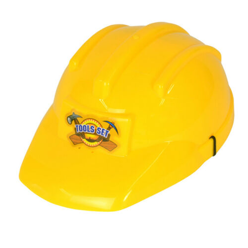 Childrens Bob The Builder Hard Hat Yellow Fancy Dress Costume Prop