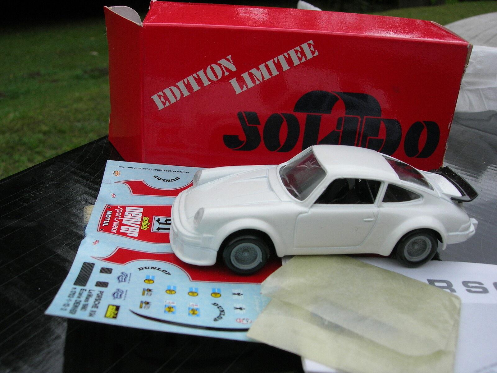 SOLIDO 1 43 RARE PORSCHE 934 LE MANS 1980 Serie Limitée TOP 43