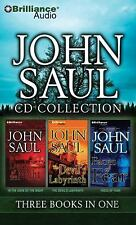 John Saul CD Collection 4: In the Dark of the Night, The Devil's Labyrinth, Face
