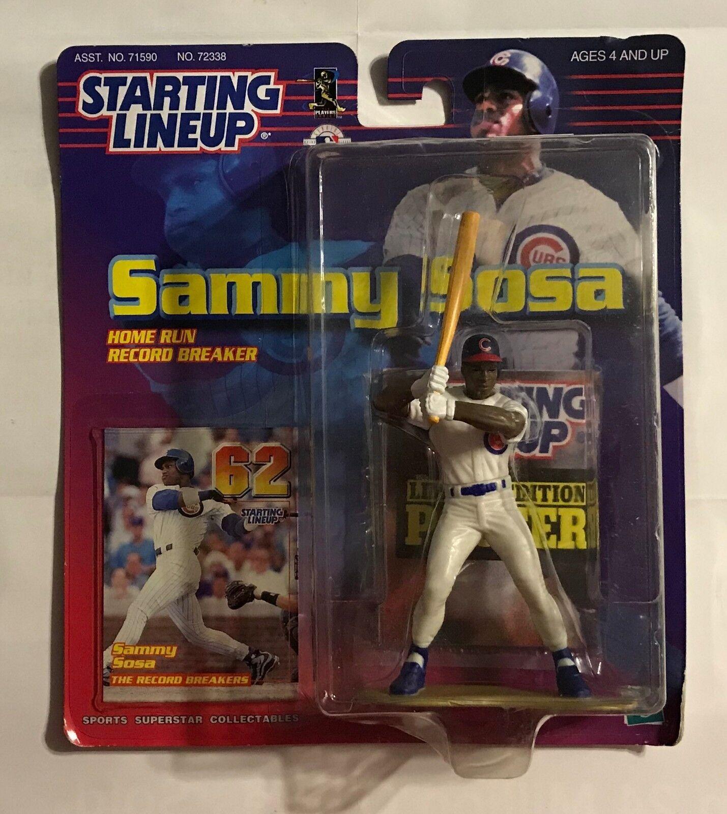 1999 STARTING LINEUP - SAMMY SAMMY SAMMY SOSA - 62 HOME RUNS - ACTION FIGURE a8d6e7