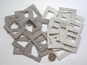 NO-350-Scrapbooking-24-Small-Card-Photo-Picture-Frames-Scrapbook-Craft