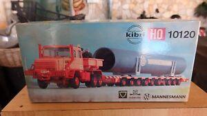 Kibri 10120 - Faun Zugmaschine Avec Schwerlastroller - H0 - Modellbausatz - Kit Handicap Structurel