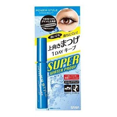 Sana POWER STYLE Mascara Curl & Separate SWP Super Waterproof N1 Strong Black