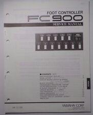 Original Yamaha FC900  Foot Controller SERVICE Manual