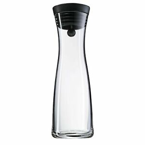 WMF Wasserkaraffe 1,0 l schwarz Basic Glas NEU