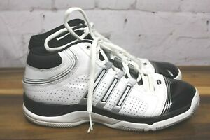 Basketball Sneakers White Top About Guc Shoes Details Mens 10 Adidas High Black Athletic Size ym0N8OvwPn