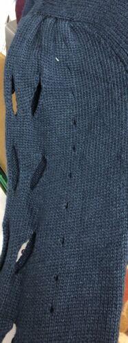 Gradi taglia scuro Maglione medio smerli blu a Celsius HgqqwIf4x