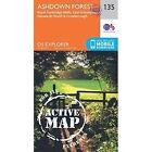 Ashdown Forest by Ordnance Survey (Sheet map, folded, 2015)