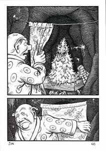 jim woodring weathercraft p68 original comic art frank ebay