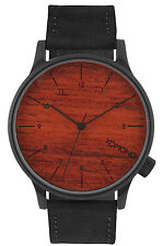 KOMONO Winston Black Wood Armbanduhr KOM-W2020
