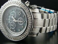 Mens Joe Rodeo/Jojo Junior Diamond Watch Black 14.75 Ct