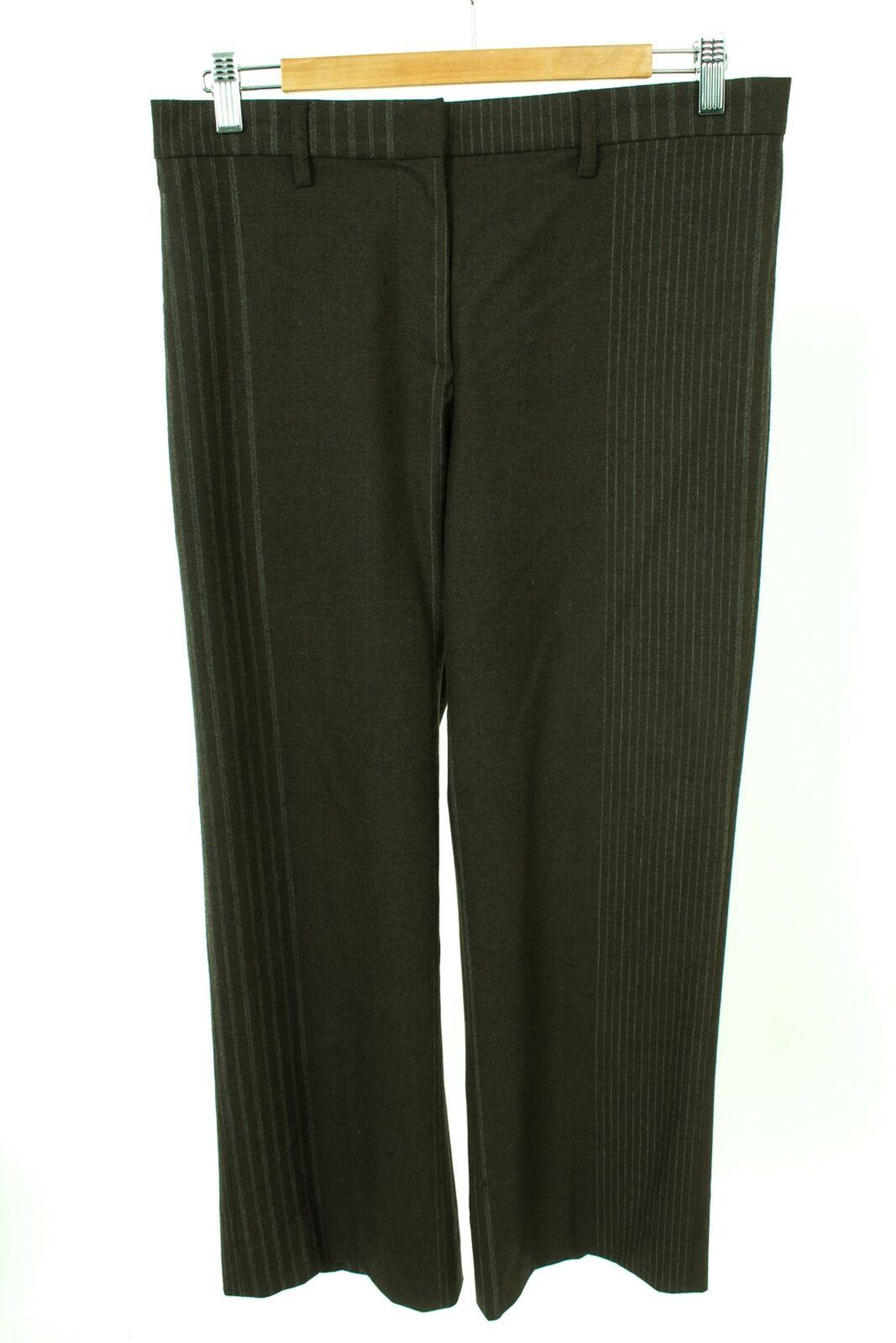 GUNEX Hose Trousers Pants Wolle Damen Gr. DE 40 in Braun