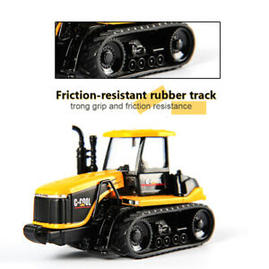1//64 C-COOL Agricultural Tractor Model Yellow Diecast Miniature Vehicle