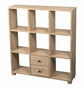 Stabiles Standregal Holz Massiv Regal Showcase Bord Board