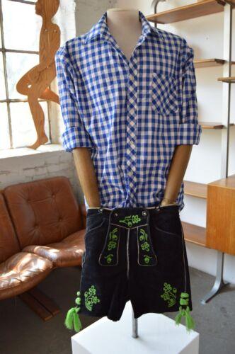 in Wiesn Ricami Trachten in Oktoberfest pelle Beckert pelle uomo Pantaloni Pantaloni XS8fPqqan