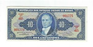 10-Cruzeiros-Bresil-1963-c020-p-167b-Brazil-billet