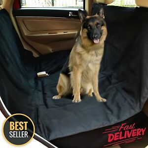 Pet Car SUV Van Back Rear Bench Seat Cover Waterproof