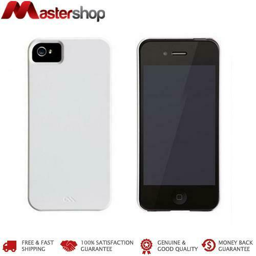 Case-Mate Barely There Case for iPhone 5 / 5S / SE 1st Gen - Glossy White