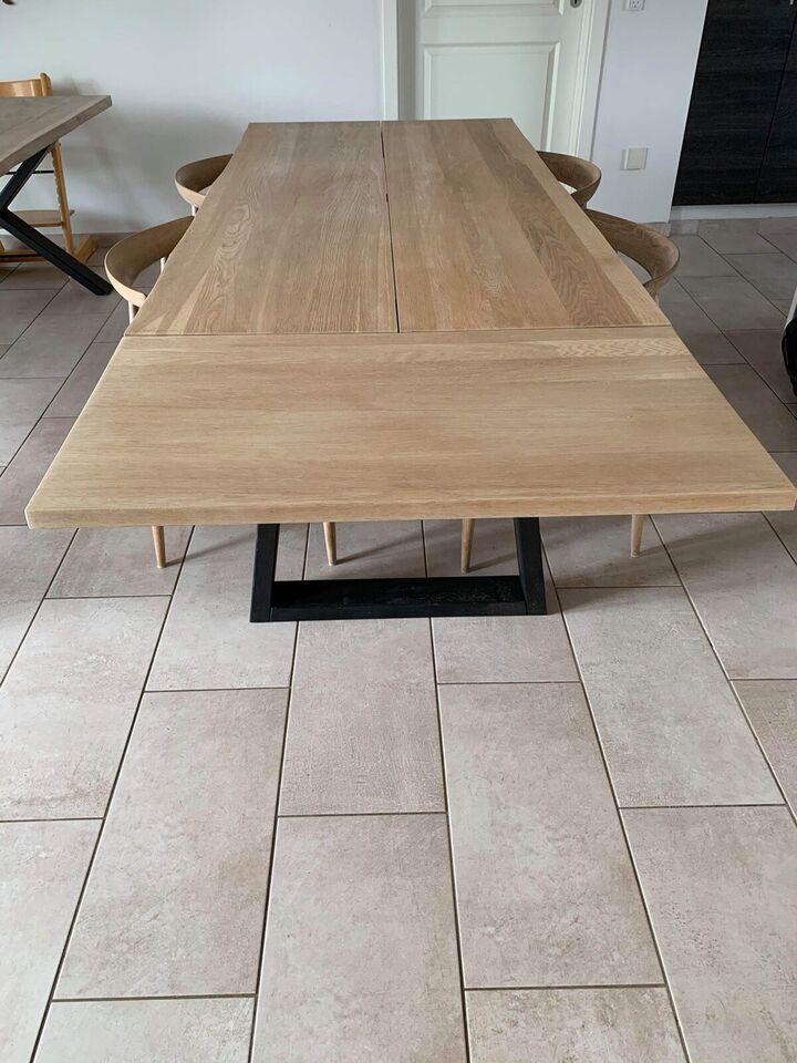 Spisebord, Egetræ, b: 90 l: 180