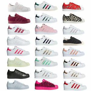Details about Adidas Originals Superstar Ladies Trainers Sport Shoes Shoes Trainers New show original title
