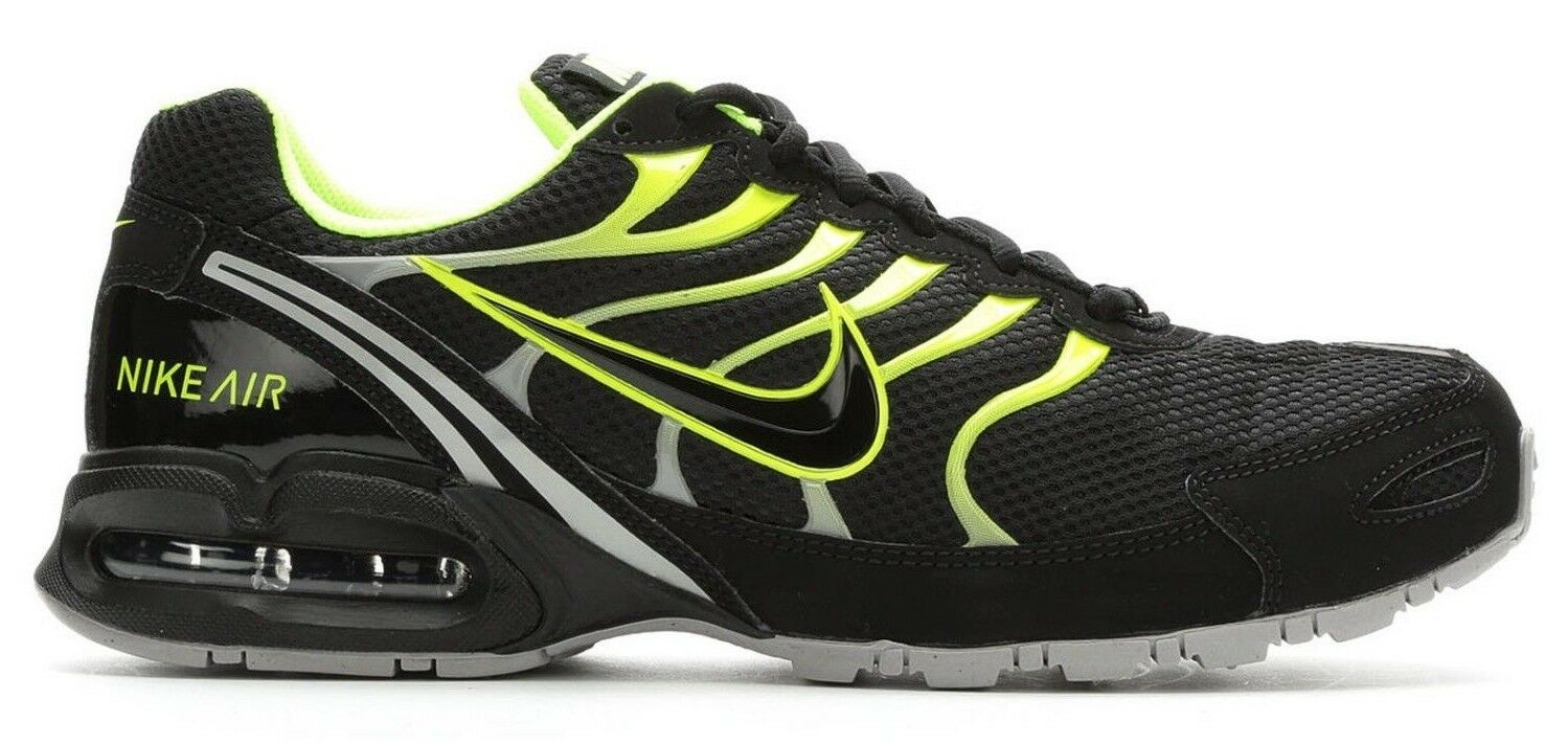 Seasonal clearance sale New NIKE Air Max Torch 4 Running Shoes Mens all sizes black/volt