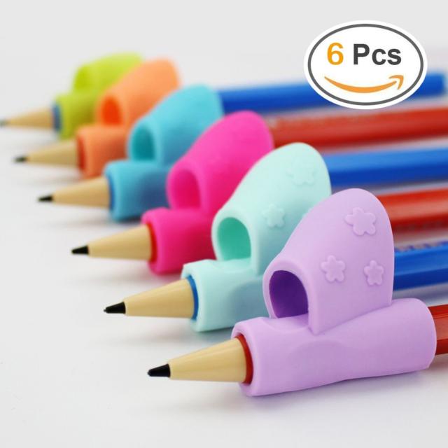 Pencil Grip,Warmtaste New Design Ergonomic Training Children Pencil Holder Pen