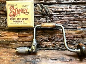 "Vintage Stanley 945 10"" Hand Brace  In Excellent  Condition"