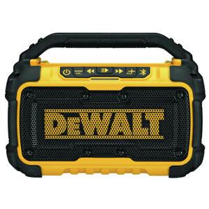 DeWalt DCR010R 12V/20V MAX Bluetooth Speaker (Tool Only) Certified Refurbished