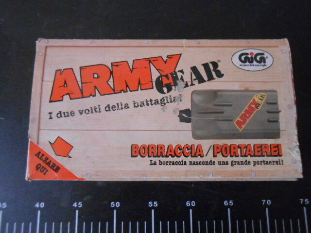 Army Gear GALOOB BORRACCIA PORTAEREI LASER Soldatini Army Gig Vintage