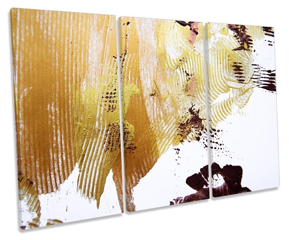 VERNICE colpi astratto Treble a muro opera d'arte art print