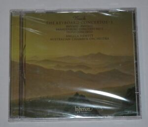 CD-SEALED-NEW-BACH-THE-KEYBOARD-CONCERTOS-1-HEWITT-Hyperion-CDA67307