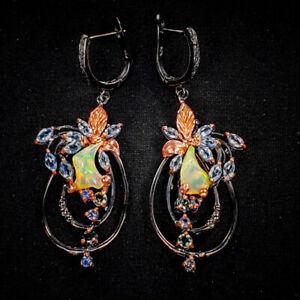 Opal-Earrings-Silver-925-Sterling-Unique-Jewelry-Design-E39211