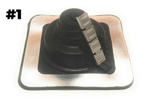 Dektite Metal Roofing Pipe Flashing Boots Includes Screws Butyl /& Gloves Bit